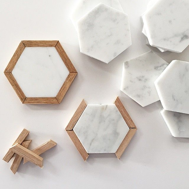 Creating Marble Coasters With A Wood Frame. Thanks To @i Photo