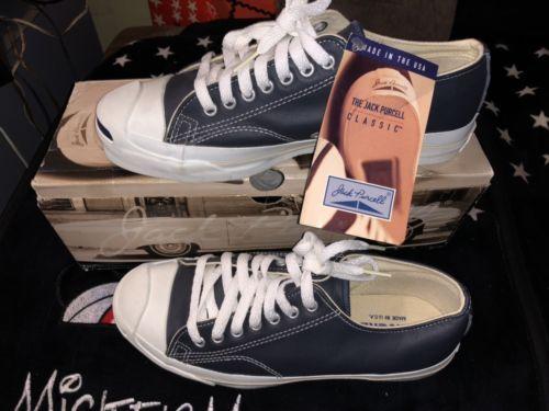 46b1d0ede12a Details about Converse Jack Purcell Vintage Rare Canvas Deadstock OG ...