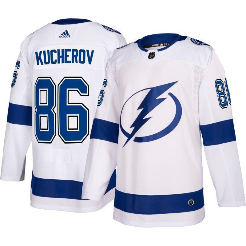 adidas Men s Tampa Bay Lightning Nikita Kucherov  86 Authentic Pro Away  Jersey b2fe91b34