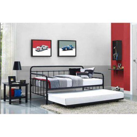 Best Better Homes And Gardens Kelsey Metal Daybed Trundle 400 x 300