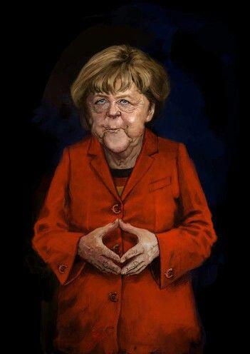 Angela Merkel Merkel Karikatur Karikaturen Von Beruhmtheiten