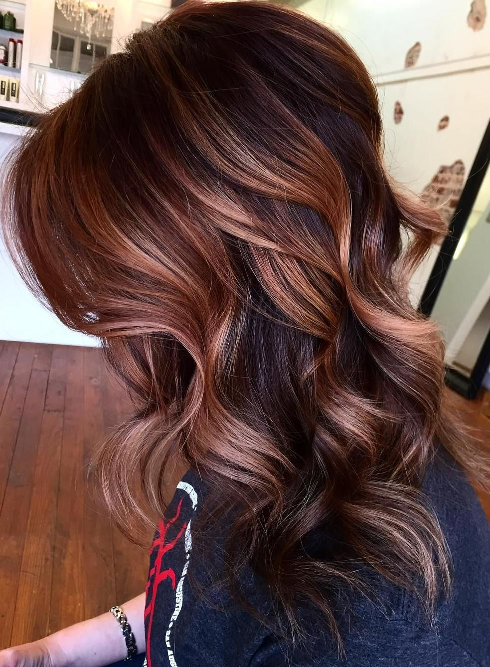 33 Hottest Copper Balayage Ideas for 2017  Copper Balayage Hairs in 2019  Hair, Copper