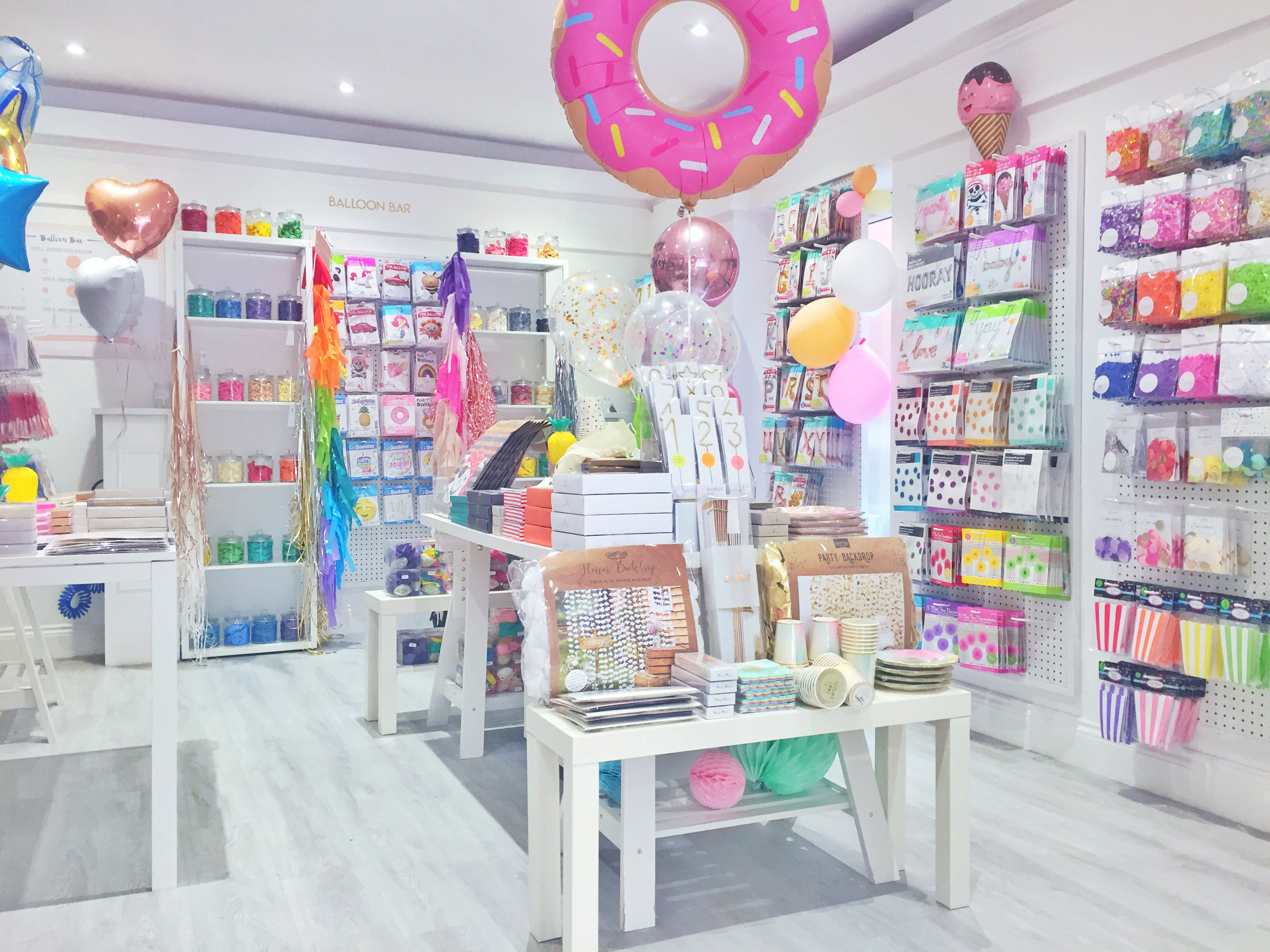Happy 1st Birthday To Us Party Shop In 2019 Gift Shop