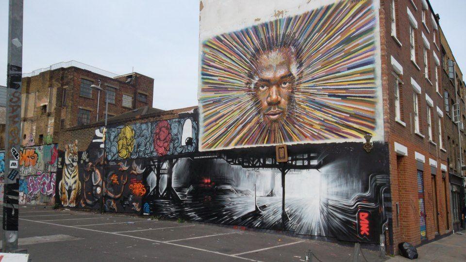 Jimmy C Dnk Kef Shoreditch East London Street Art Kef Art