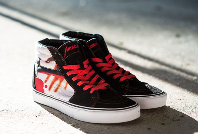 vans sk8 hi kill em all