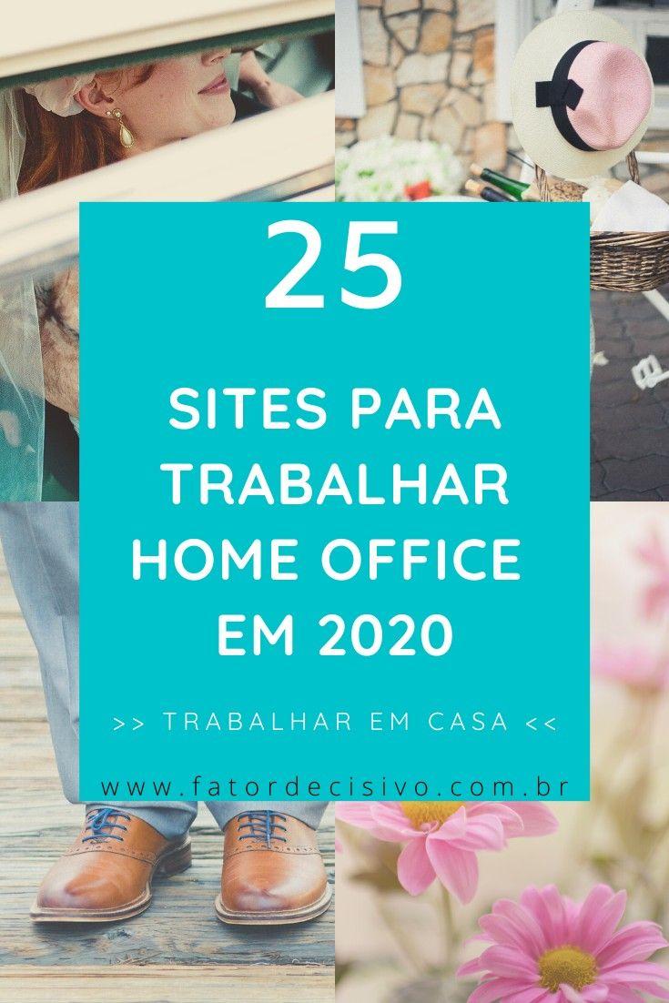 25 sites para trabalhar home office