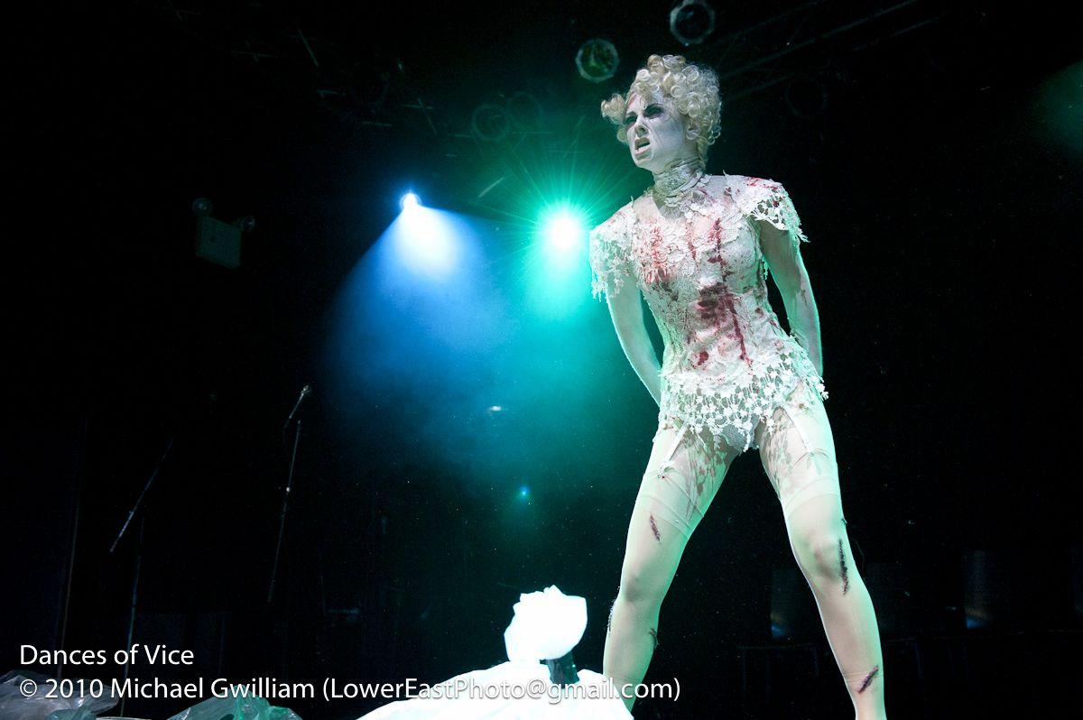 Dances of Vice PhantasmaGOREY Edward Gorey Halloween 2010, Photo Michael Blase