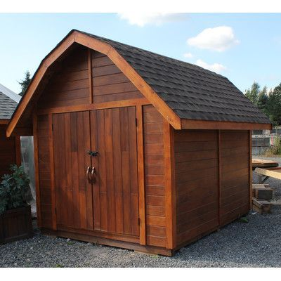 Charming Westview Manufacturing The Barn 10 Ft. W X 12 Ft. D Wooden Portable Shed
