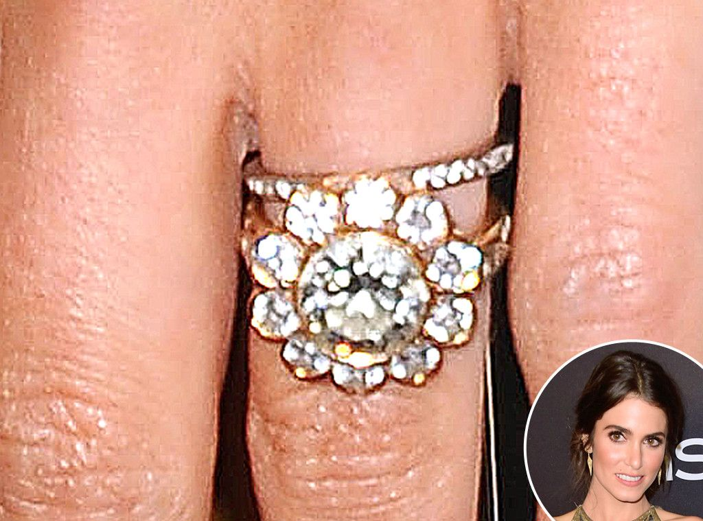 Nikki Reed from Truly Unique Celebrity Engagement Rings Nikki reed