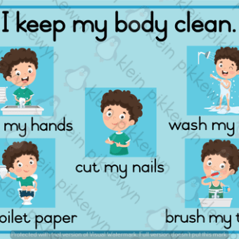 2d Vorms Plakkate Teacha Clean Body Body Cleaning