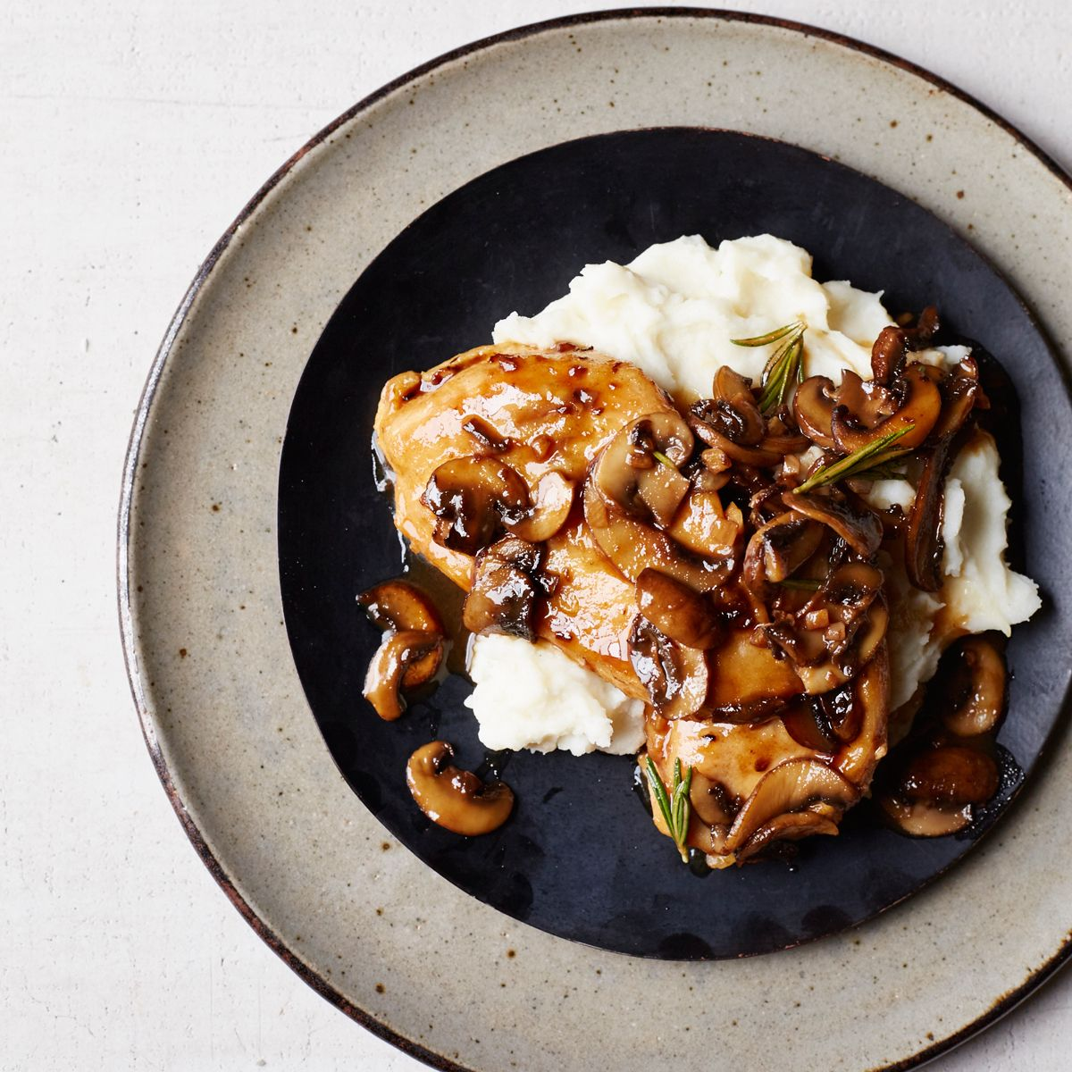 Chicken Marsala is a traditional Italian-American dish prepared with chicken cutlets, mushrooms and Marsala wine. Get the recipe at foodandwine.com.