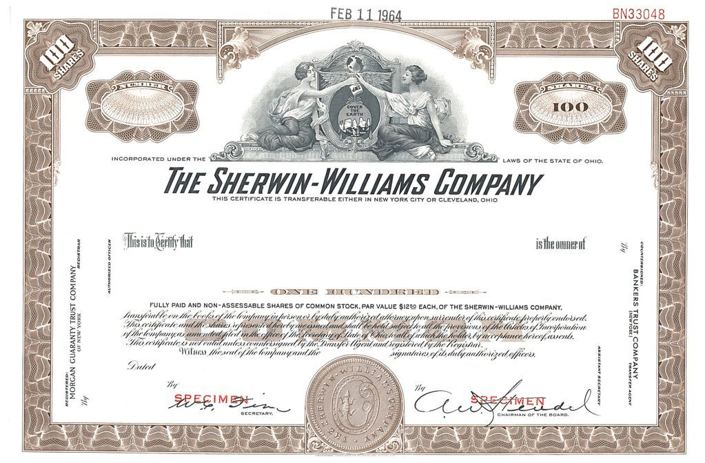 Nyse On Original Stock Certificates Pinterest Certificate The