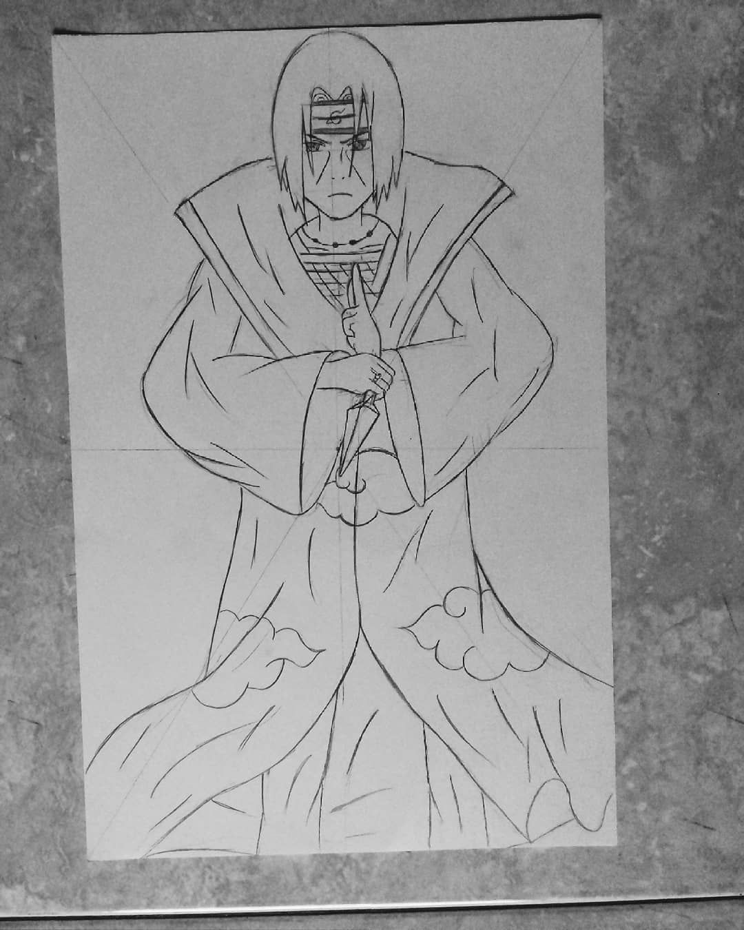Hendra Di Instagram Uchiha Itachi Royalepost Art Artwork Pencilcase Pencilart Pencildrawing Pencil Colour Drawin Anime Drawings Male Sketch Drawings