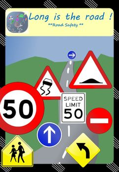 In this unit, your students will learn:  ☆ the French road signs shapes ☆ what they mean exactly ☆ discover the 3 American road signs and find their equivalent in the French system.  They will also develop their writing skills, writing about the signs' meaning.  ☞ Grammar  It focuses on the use of the modals should and must.  ☞ Engage your students !  Make them create their own signs with the blank road signs, both French and American.
