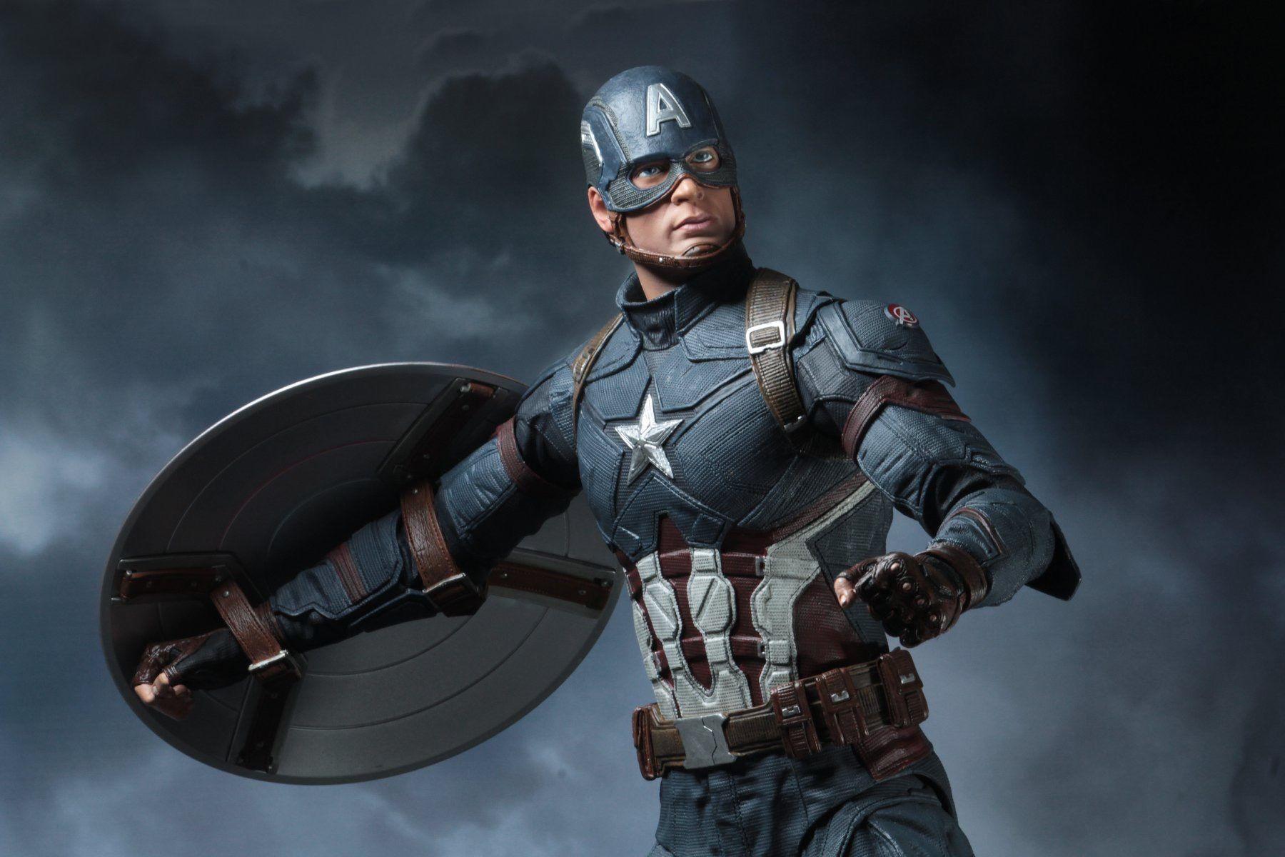 Captain America NECA 1//4 Scale Figure Captain America: Civil War