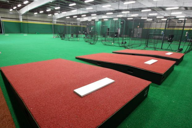 Legion opens new baseball softball training facility gym for Design indoor baseball facility