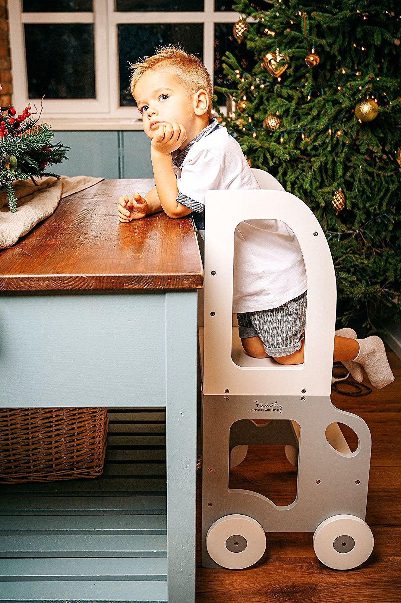 Aide De Cuisine Montessori Qui Peut Etre Facilement Transforme En