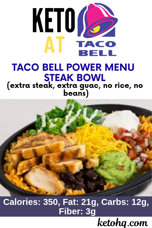 3 Best Low Carb Keto Taco Bell Options 2020 Updated Keto Fast Food Fast Healthy Meals Healthy Fast Food Options