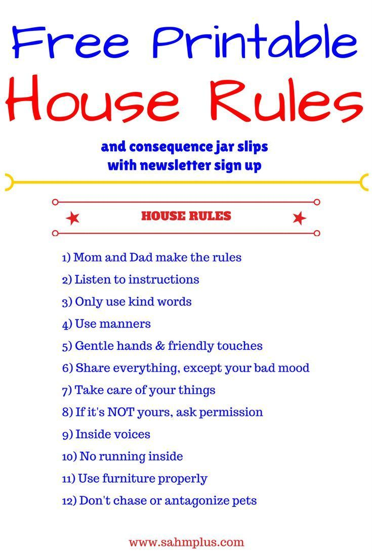 graphic regarding Free Printable House Rules Chart known as End result jar least complicated habits for productive self-control