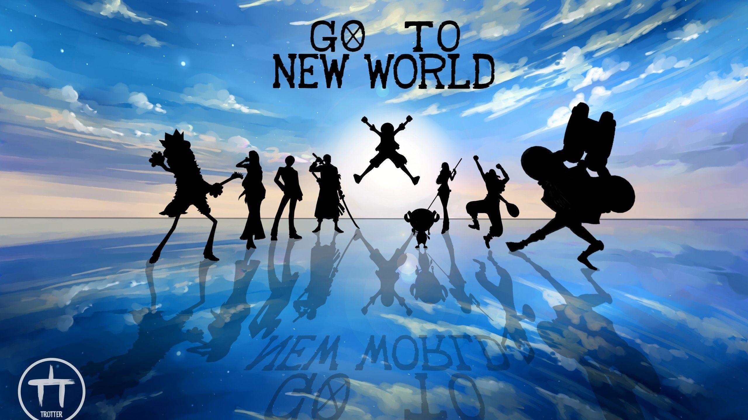 2560x1440 Anime One Piece Wallpaper Brooks One Piece One Piece New World World Wallpaper