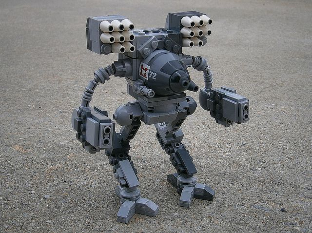 Timber Wolf OmniMech (1) by chandlerparker, via Flickr