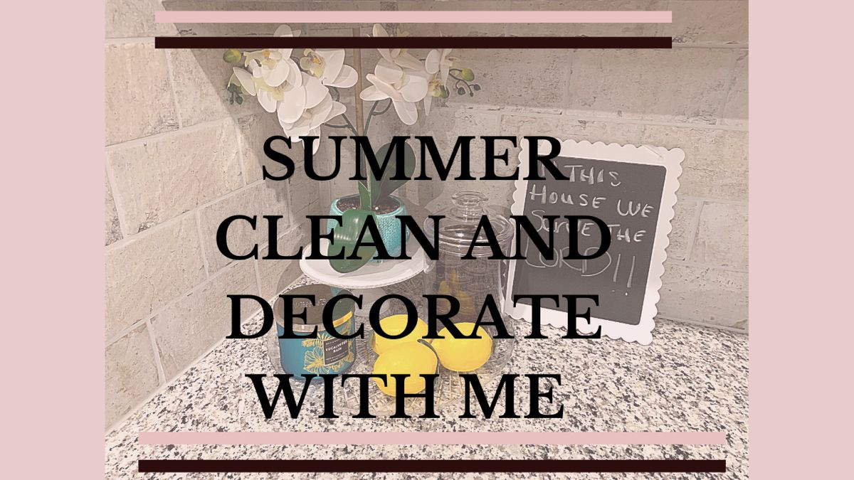 I did a small summer refresh in my kitchen. If you want to see how turned out, click the link below. #summer #summerdecor #kitchendecor #amazondecor