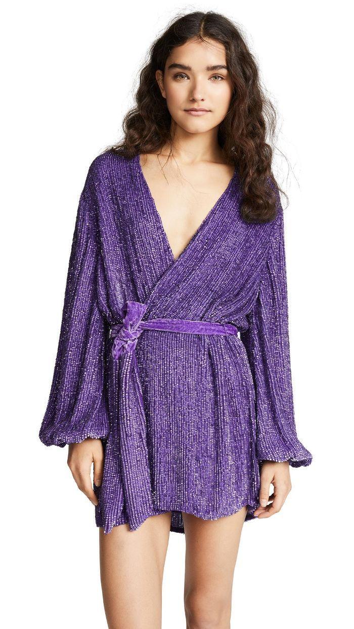 16 LongSleeve New Year's Eve Dresses to Wear When It's