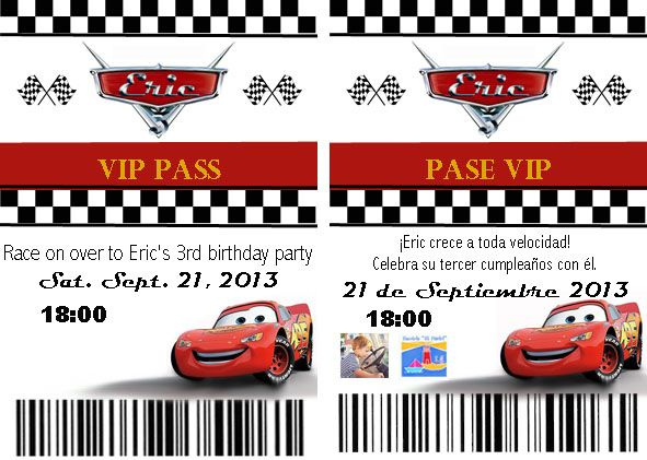 You Can Easily Make Homemade Cars Pit Pass Invitations With My Invitatio Cars Birthday Invitations Birthday Invitation Templates Car Birthday Party Invitations