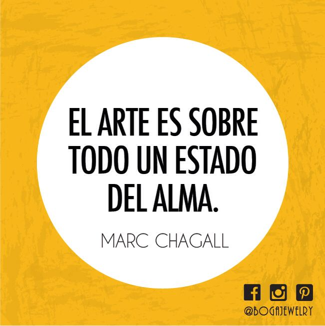 Quote Alma Arte Marcchagall Bogalovers Bogajewelry