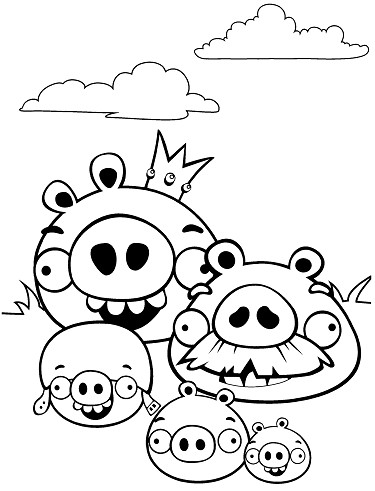 Bad Piggies Coloring Pages Online Bad Piggies Is A Puzzle Video Game Developed By Rovio Ente In 2020 Bird Coloring Pages Coloring Pages For Kids Coloring Pages