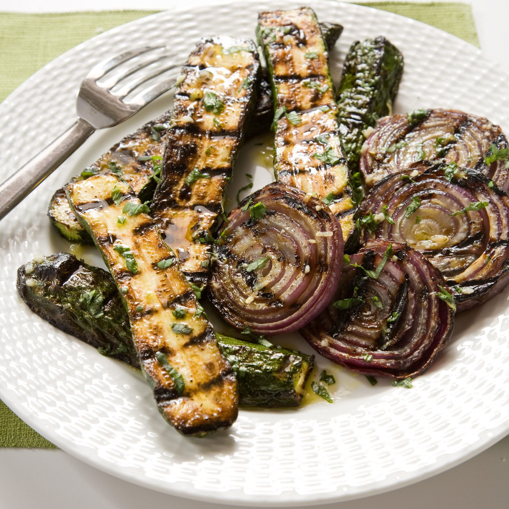 Most grilled veggies turn out one of two ways: pale and crunchy or ...