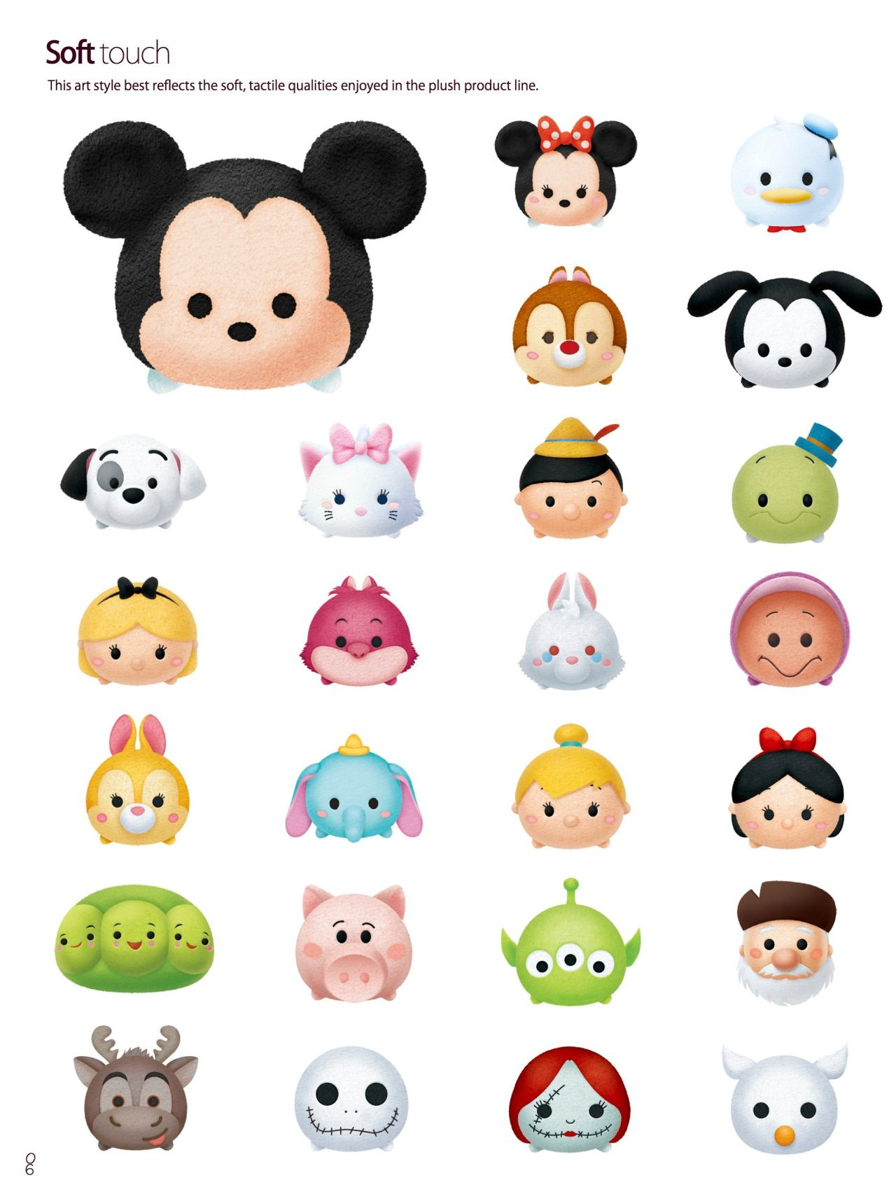Stitch Kingdom, Official Tsum Tsum style guides (x) Not following ...