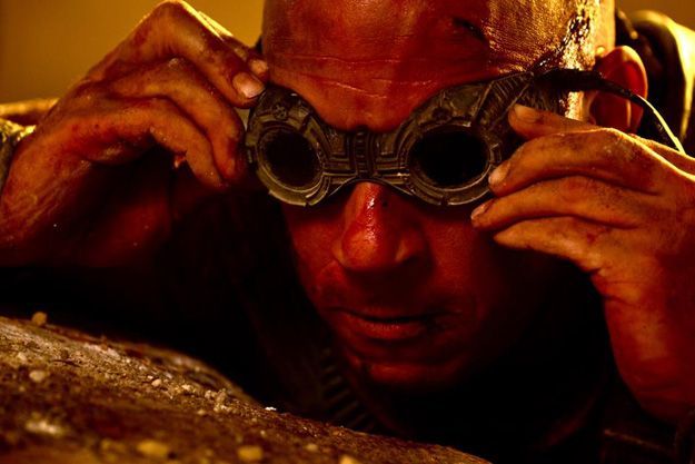 New Riddick photo from the next movie.