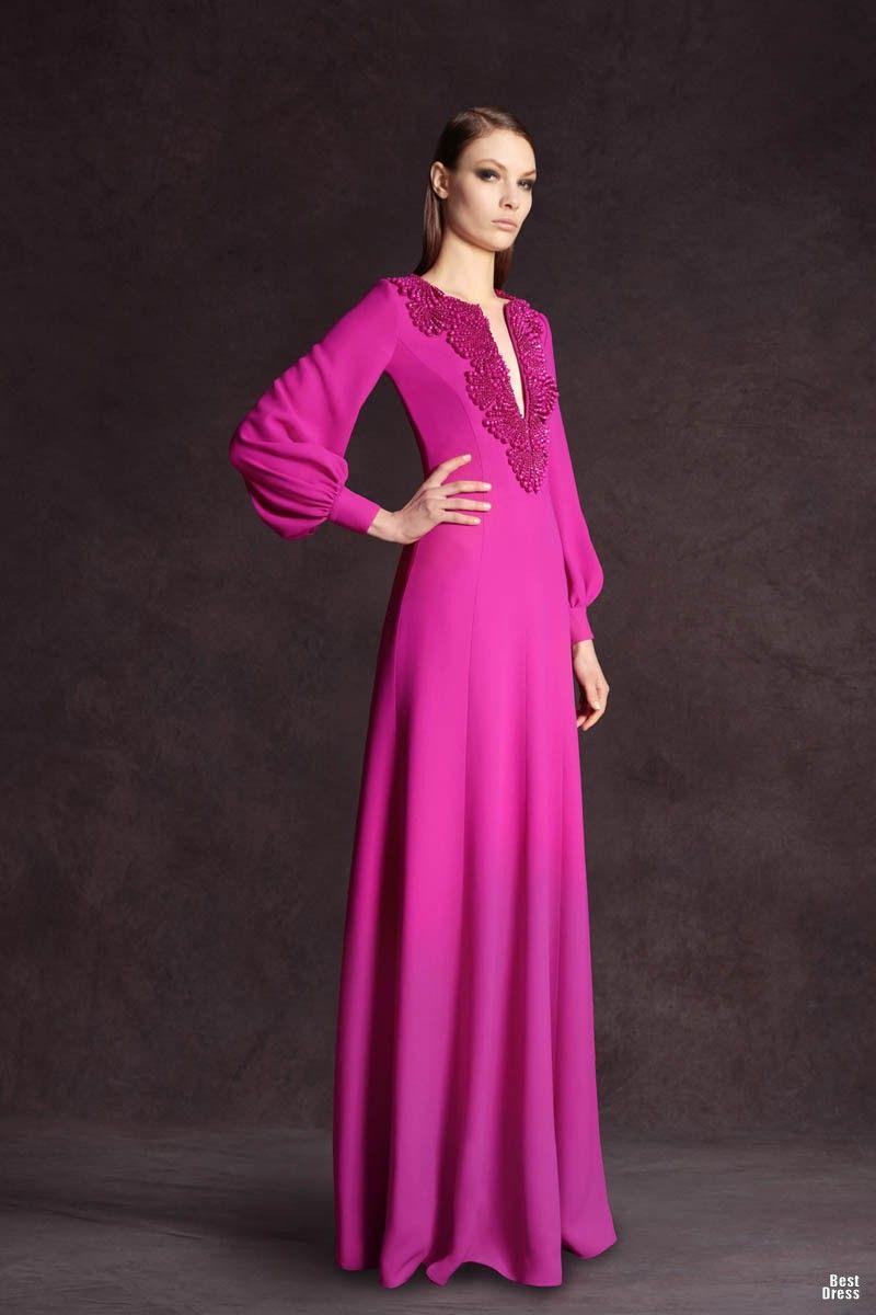 Vestidos elegantes y modernos | vestidos | Pinterest | Vestido ...