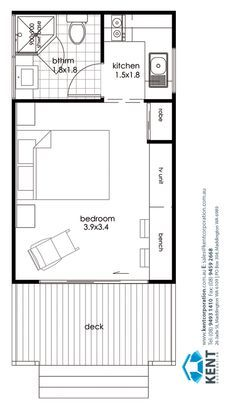 Narrow Garage Conversion Granny Flat Plans Google Search Garage Conversion Granny Flat Apartment Floor Plans Studio Floor Plans