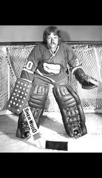Dave Mclelland Vancouver Canucks 1972 73 Old Time Goalies