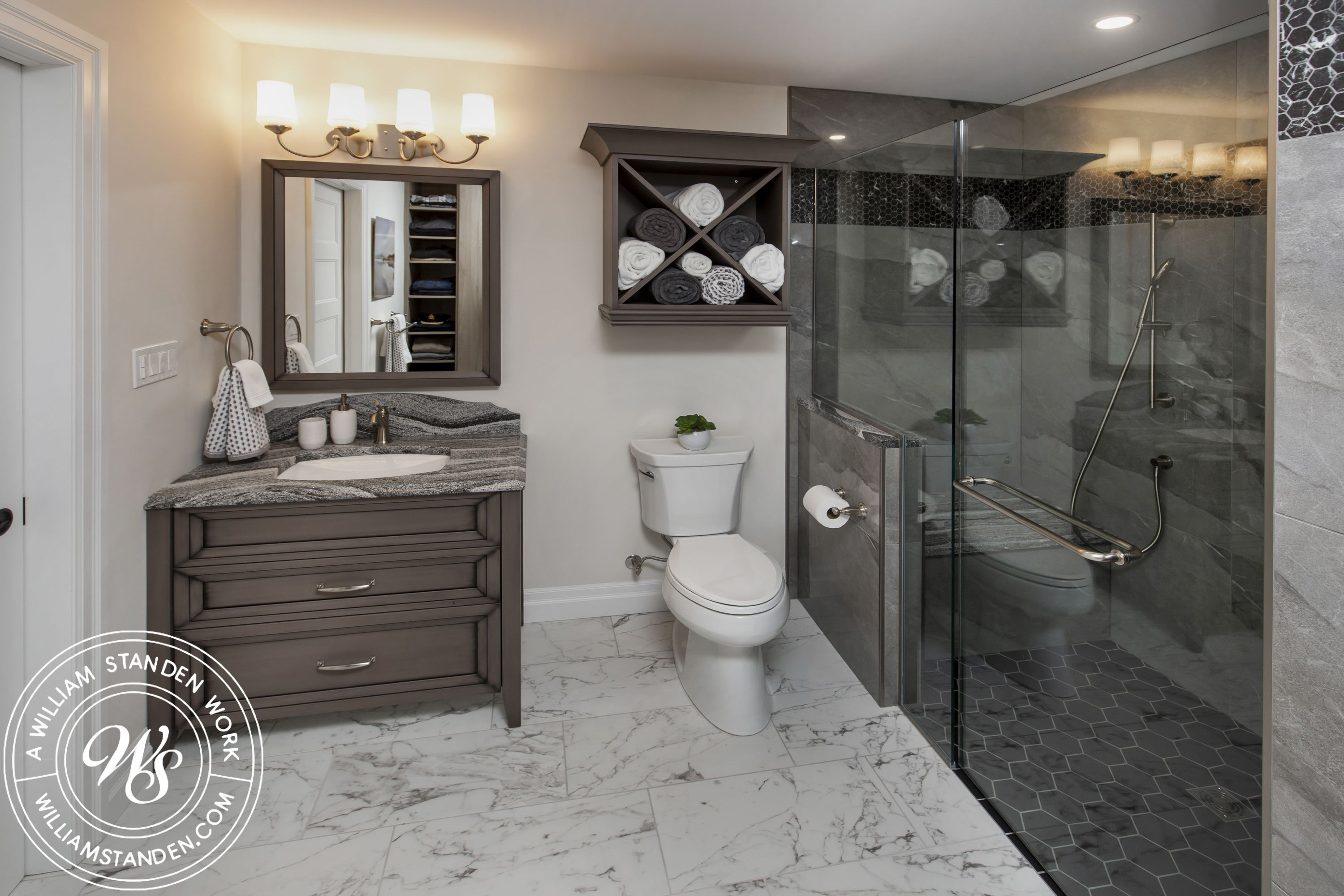 Pin by William Standen Co. on Bathroom Design | Custom ...