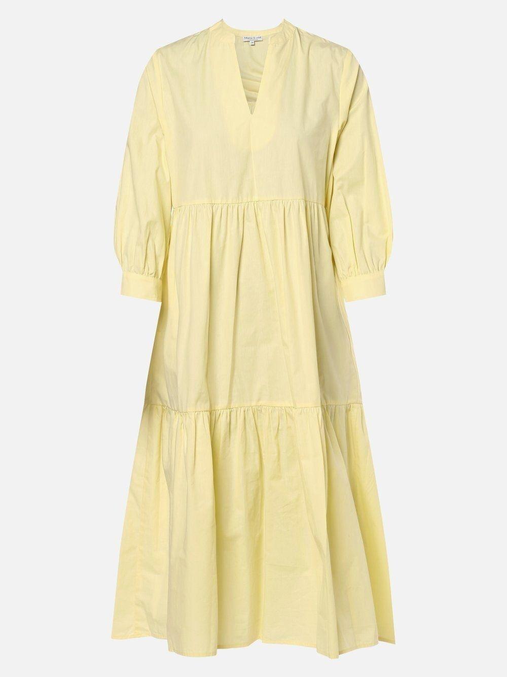 Marie lund kleid gelb in 13  Fashion, Short sleeve dresses