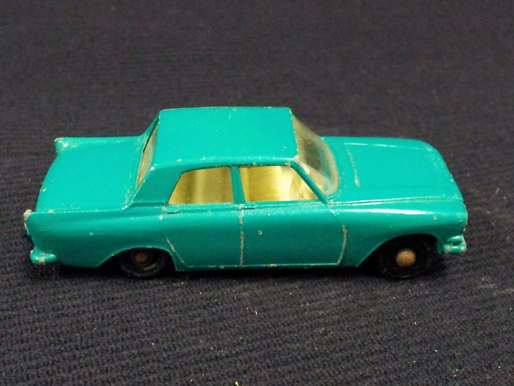 Matchbox Lesney No 33 Ford Zephyr 6 With Images Matchbox Cars Ford Zephyr