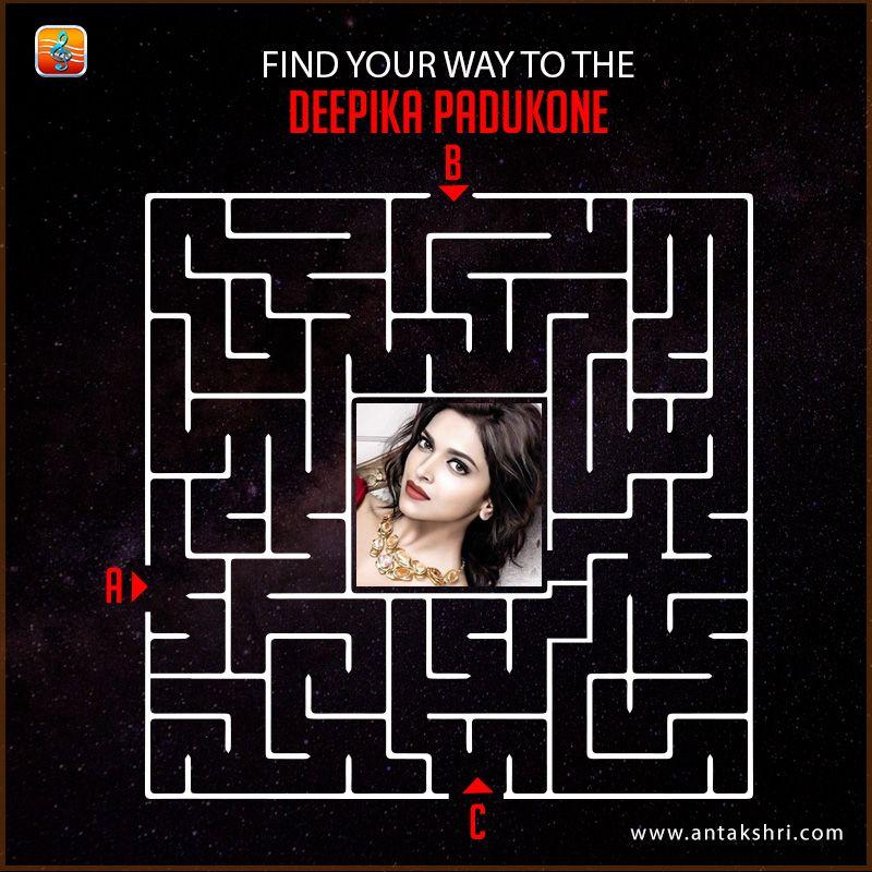 Find Your Way To The Deepikapadukone Antakshriapp Download Here Ios Www Goo Gl Bgvjem Android Www Goo Gl Finding Yourself Trivia Games Deepika Padukone