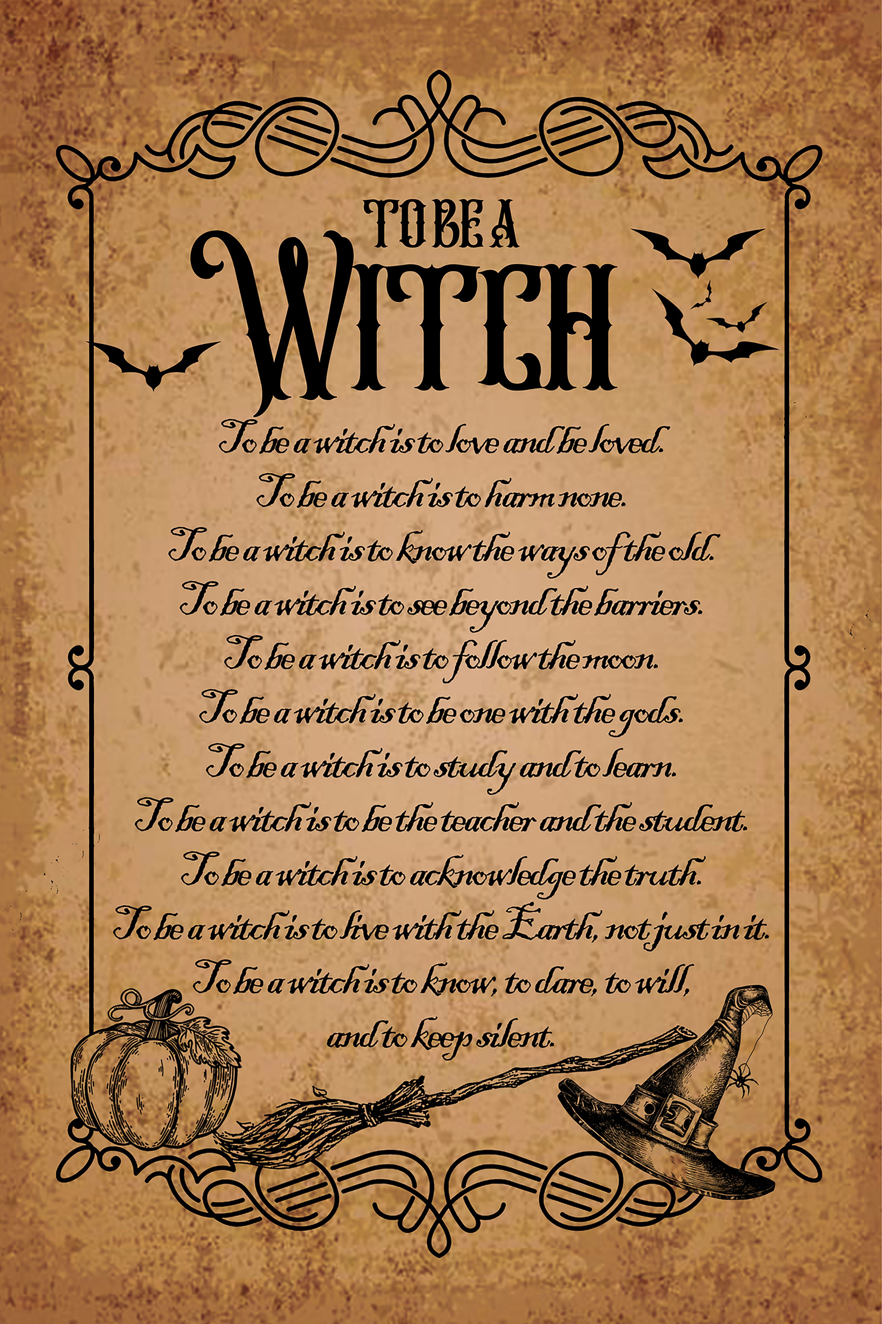 Halloween Witchs Grimoire Spell Book Cover Aged Background Diy Digital Download Vintage Halloween Spook Vintage Halloween Witch Vintage Halloween Collage Sheet