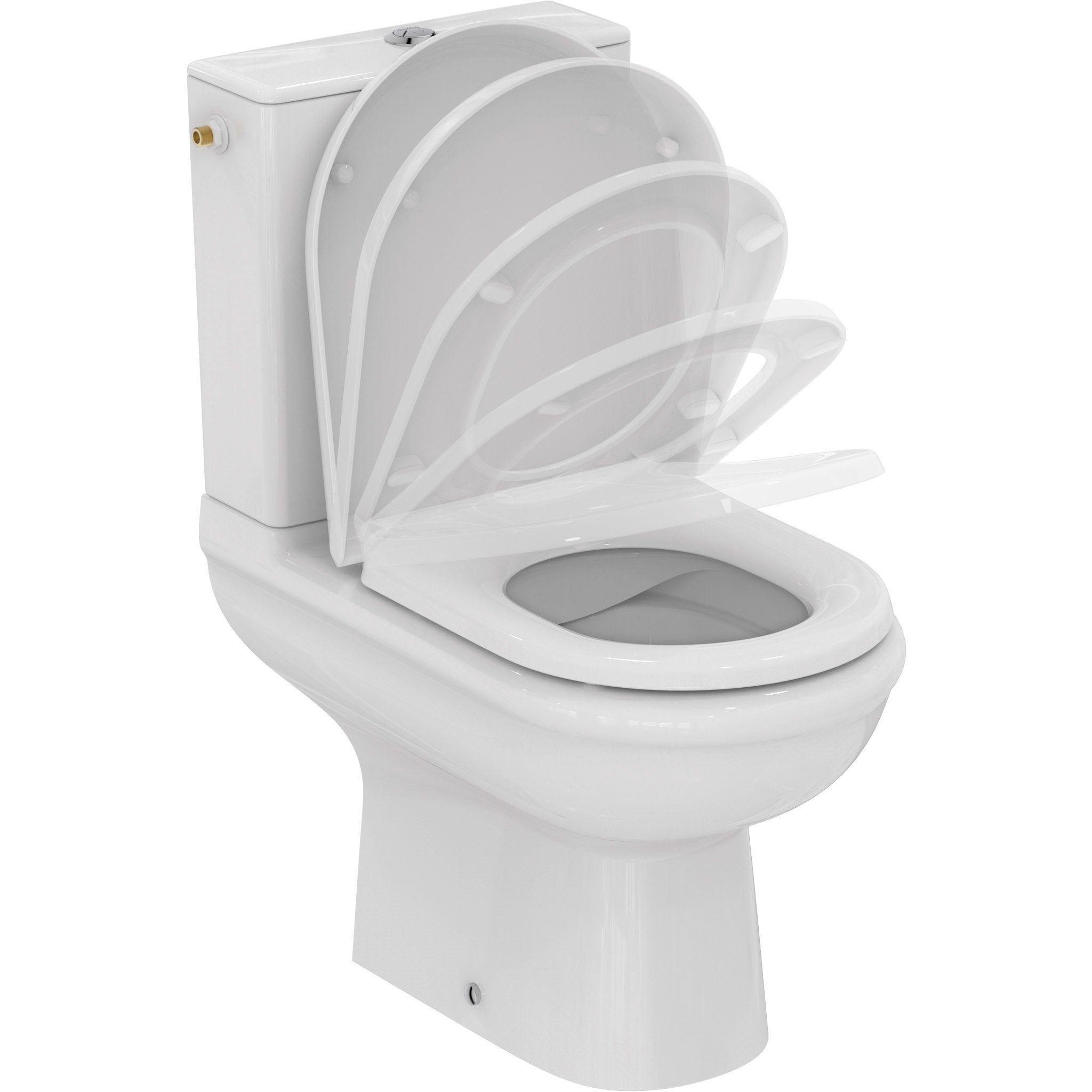 Pack Wc A Poser Sortie Horizontale Sans Bride Exacto Ideal Standard Wc A Poser Pack Wc Et Toilettes