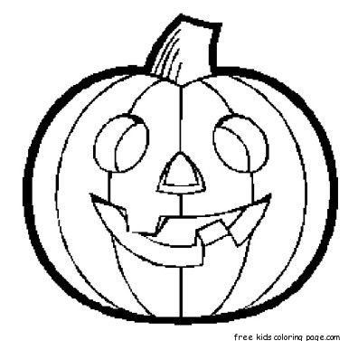 graphic about Pumpkin Printable Coloring Pages named halloween pumpkins printable coloring web pages for young children - No cost