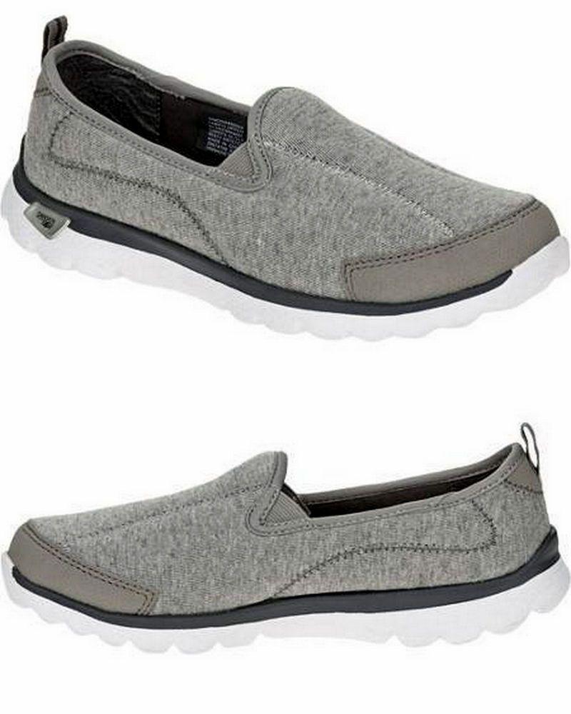 15c4f5bb8d5b9 Danskin Now Women's Slip On Knit Athletic Walking Shoes Grey Brand New with  Box #DanskinNow #Walking