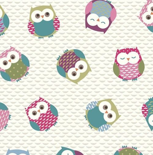 Cute Colorful Iphone Wallpaper: Cute Owl Print Wallpaper