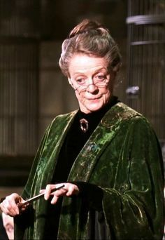Pin By Angi Ursetta On Prof Minerva Mcgonagall Harry Potter Characters Maggie Smith Harry Potter Harry Potter Cosplay