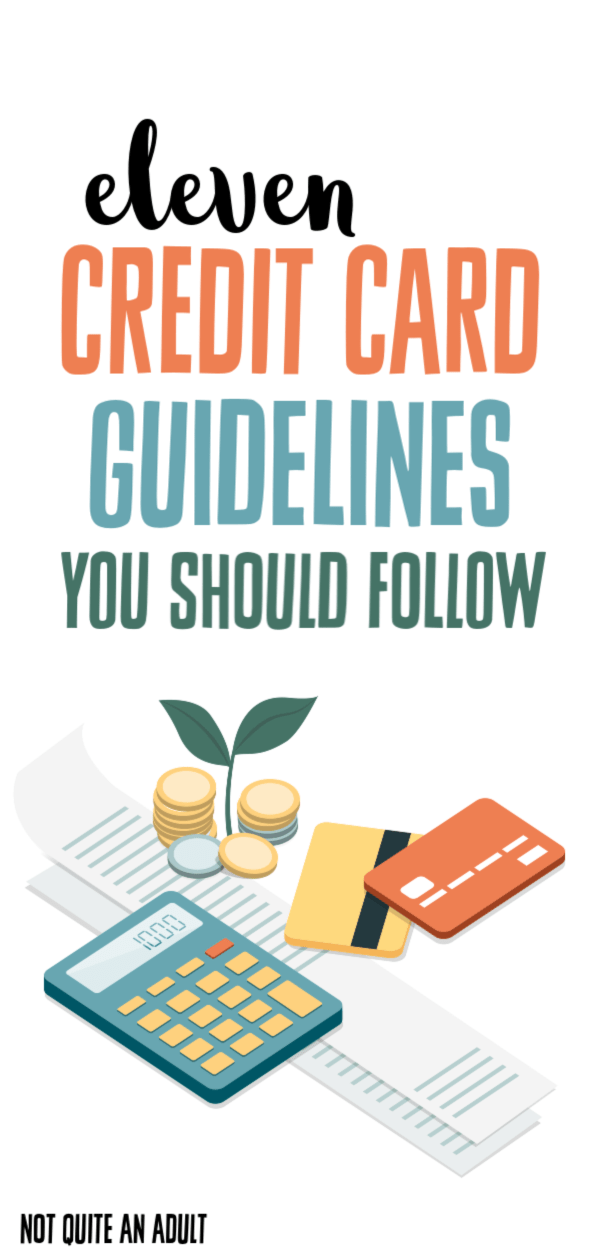 11 Credit Card Rules You Should Follow to Stay Out of Debt