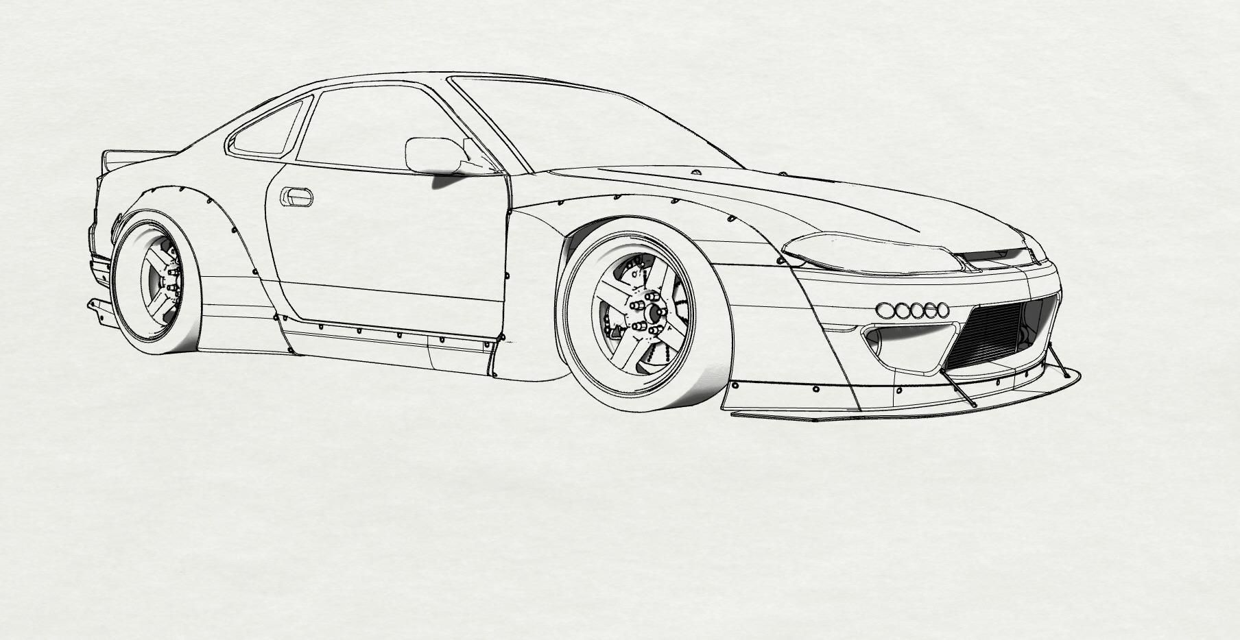 Nissan 240sx S13 Coupe