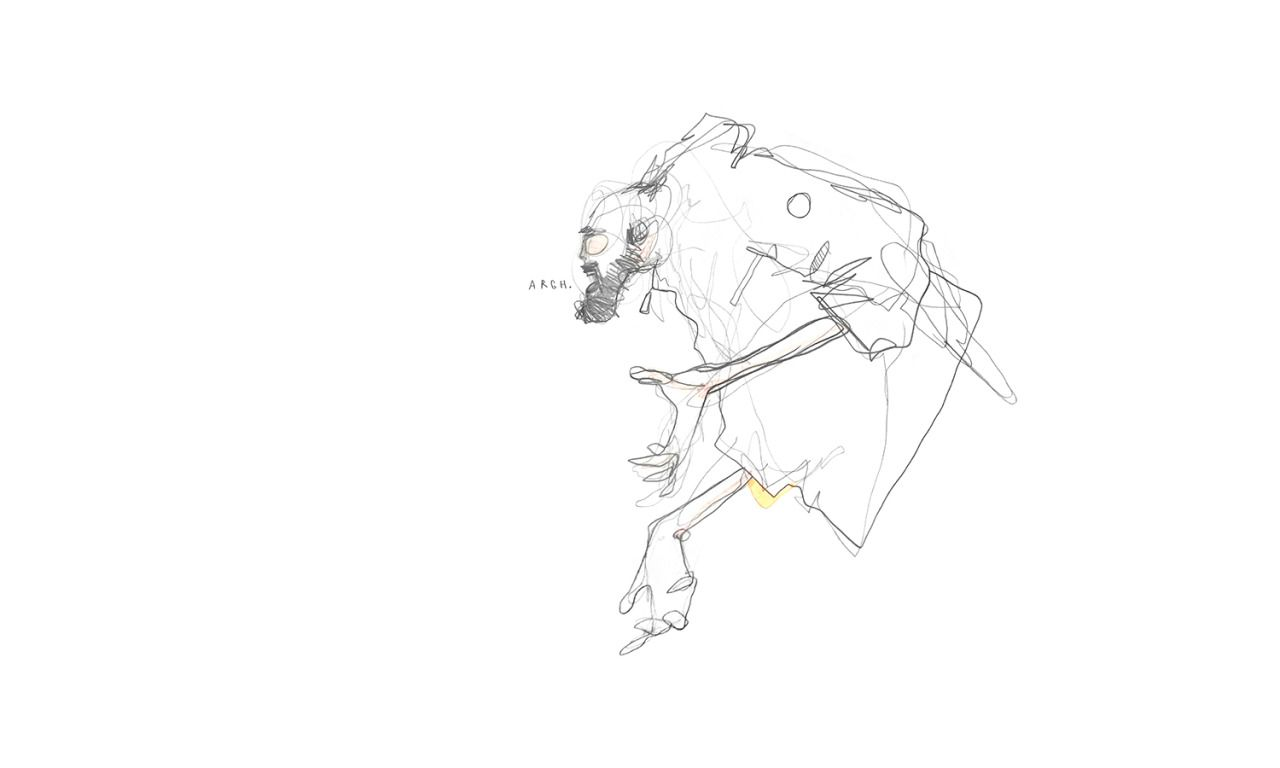 THE DAILY SKETCHBOOK ARCHIVES #1572