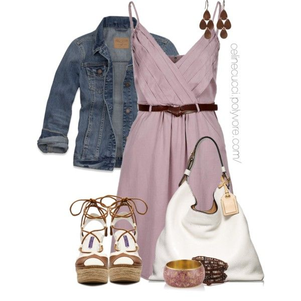 Casual - Summer Dress & Denim Jacket, created by ...
